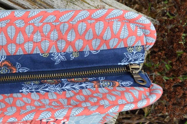 inset zipper #makerstote