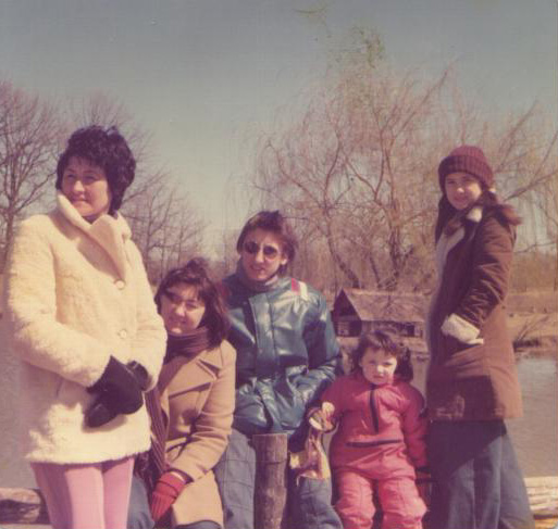 1970s family photo