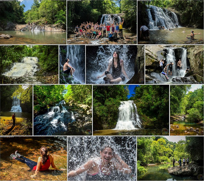 Seis Cachoeiras do Sete Lagos - Itaara RS - Clube Trekking Santa Maria RS 1