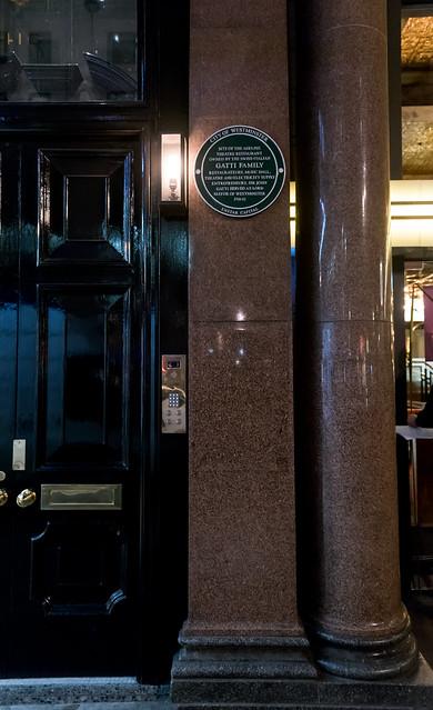 John Maria Gatti , Adelphi Theatre Restaurant, London, Agostino Gatti, and Rocco Joseph Stefano Gatt - Site of the Adelphi Theatre Restaurant owned by the Swiss-Italian Gatti family, restaurateurs, music hall, theatre and electricity supply entrepreneurs.  Sir John Gatti served as Lord Mayor of Westminster, 1911-12