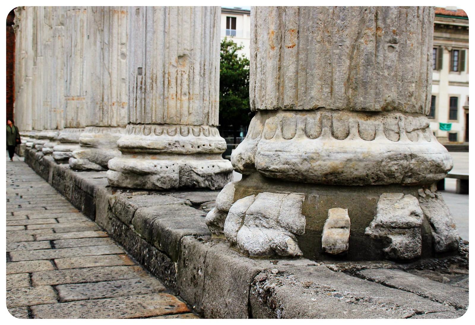milan columns