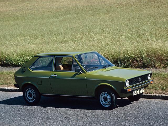 Трехдверный Volkswagen Polo (Typ 86). 1975 – 1979 годы