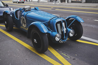 LeMans Racer out for Lunch