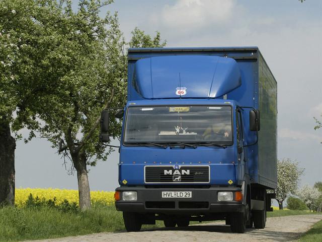 Легкий грузовик MAN L2000. 1993 – 2000 годы