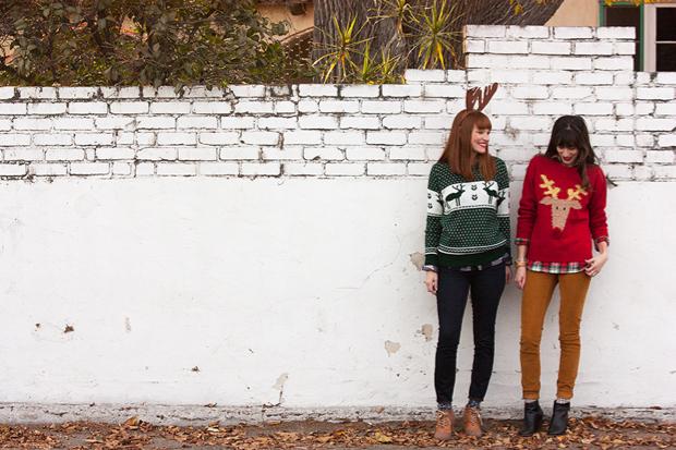 Christmas Sweater Photo Shoot, Christmas Jumper, Boohoo Sweater
