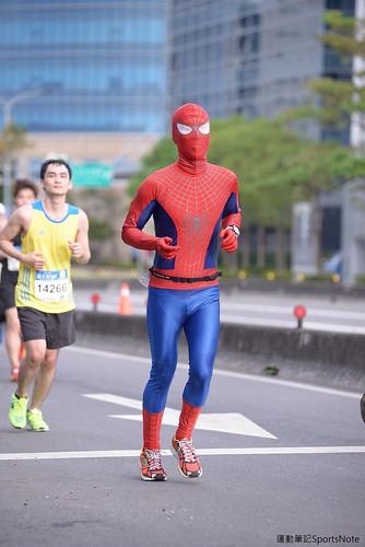 Spiderman in Taipei Marathon (5)