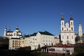 The Resurrection Church and Upensky Cathedral.