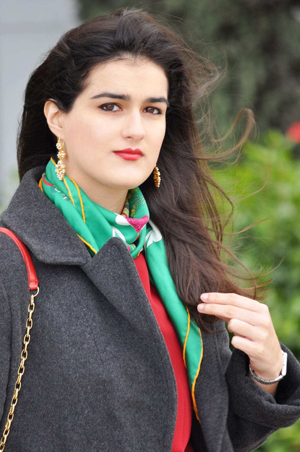 valencia spain spanish fashionista fashionblogger somethingfashion hermes carre scarf christmas holiday outfit ideas streetstyle_0052 copia