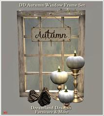 DD Autumn Window Frame Set Vendor