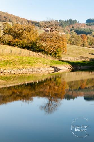Les montagnes du Matin en automne.