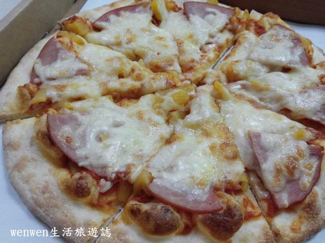 【桃園美食】文七53手工柴燒窯烤披薩~披薩口味很獨特與眾不同