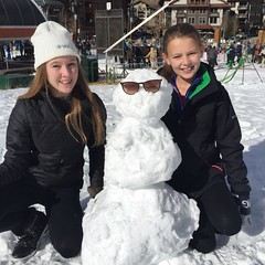 #snowman #snowballfight #ski #coppermountain