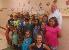 Gerald Phillips, BancorpSouth, Ellisville - Mrs. Hodges 2nd grade  - Moselle Elementary School