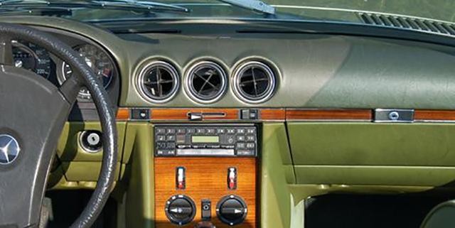 MERCEDES SL W107 R107 560SL 280SL 300SL WURZELHOLZ Armaturenbrett ... | {Armaturenbrett mercedes 41}