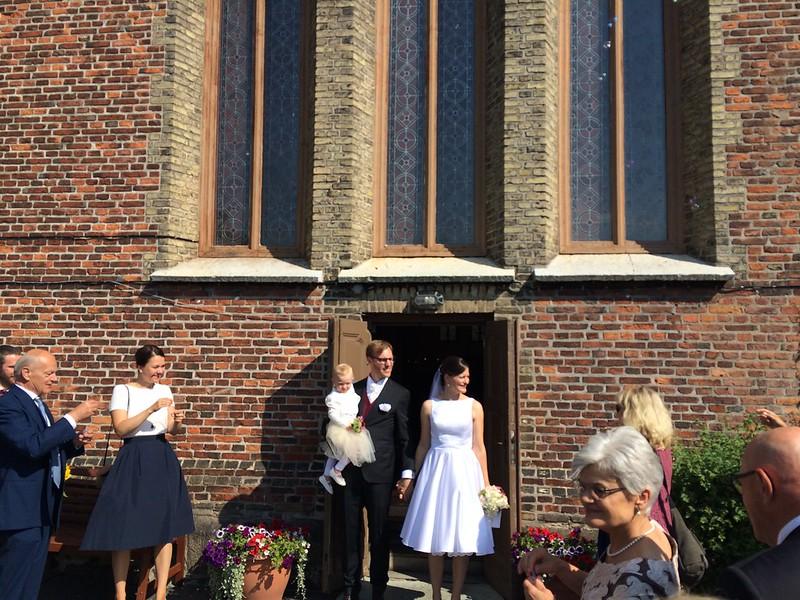 Vilket underbart bröllop!