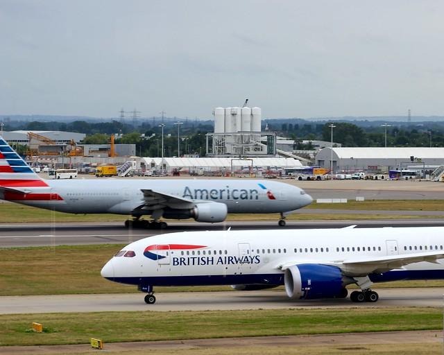 British Airways 787 G-ZBJA