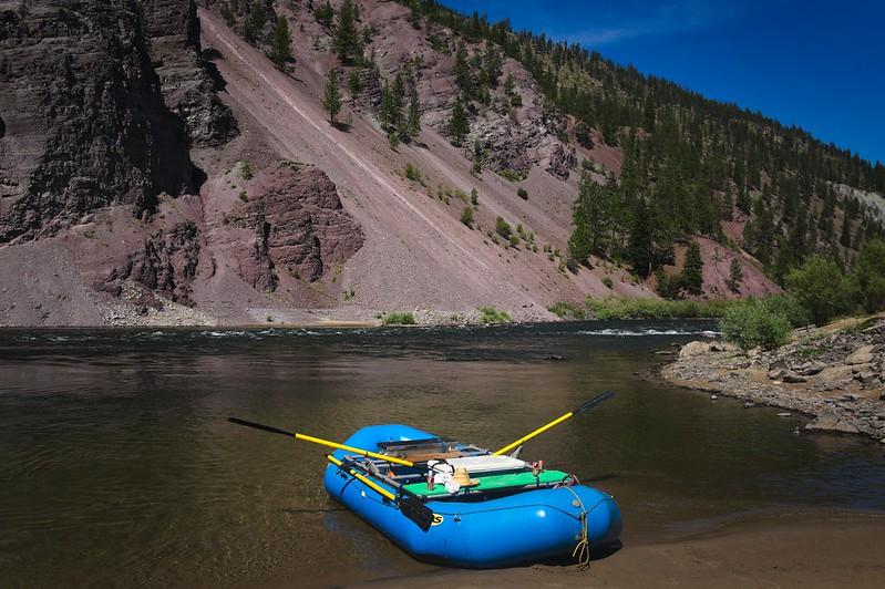 Rafting Clark Fork, MT