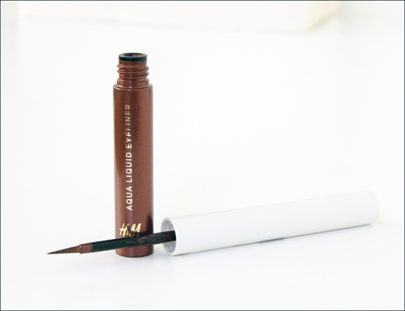 H&M afterglow aqua liquid eyeliner