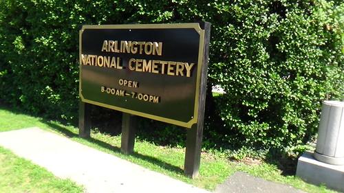 Washington DC Arlington Cemetery July 15 7