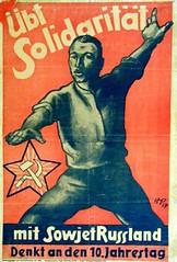 Übt Solidarität mit Sowjetrussland
