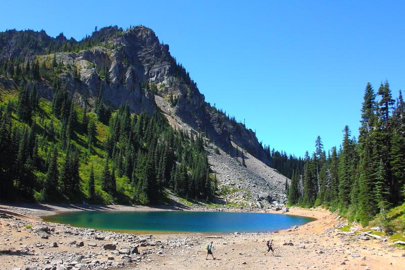 IMG_6254 Upper Palisades Lake, Palisades Lakes Trail