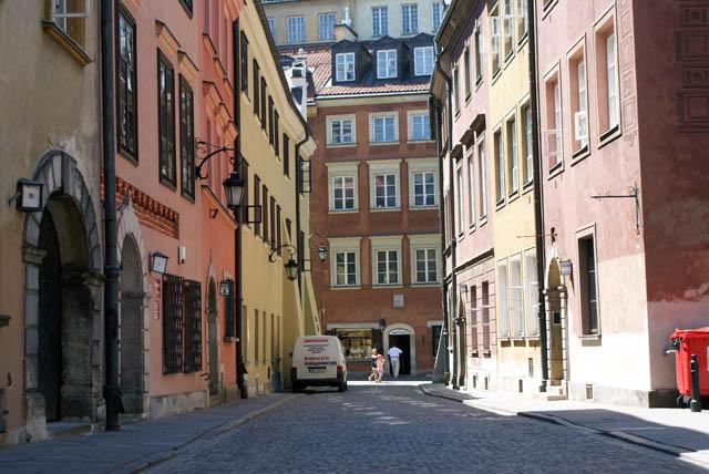 Ruelles de la nouvelle ville (Nowe miasto) de Varsovie