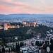 #HolaSeptiembre, la #Alhambra te recibe con su cara más bonita, desde la colina del Albaicín