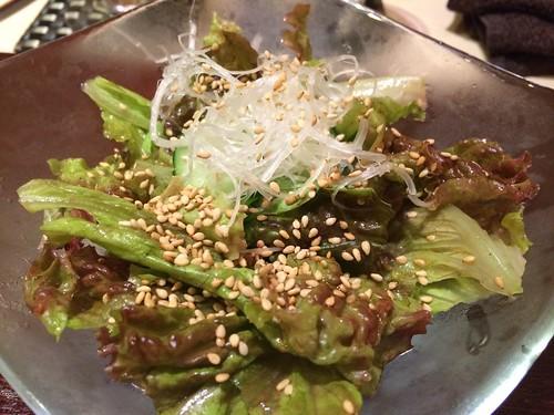 生野菜サラダ@西麻布 けんしろう