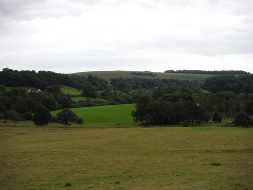 Ansty Village and Swallowcliffe Down