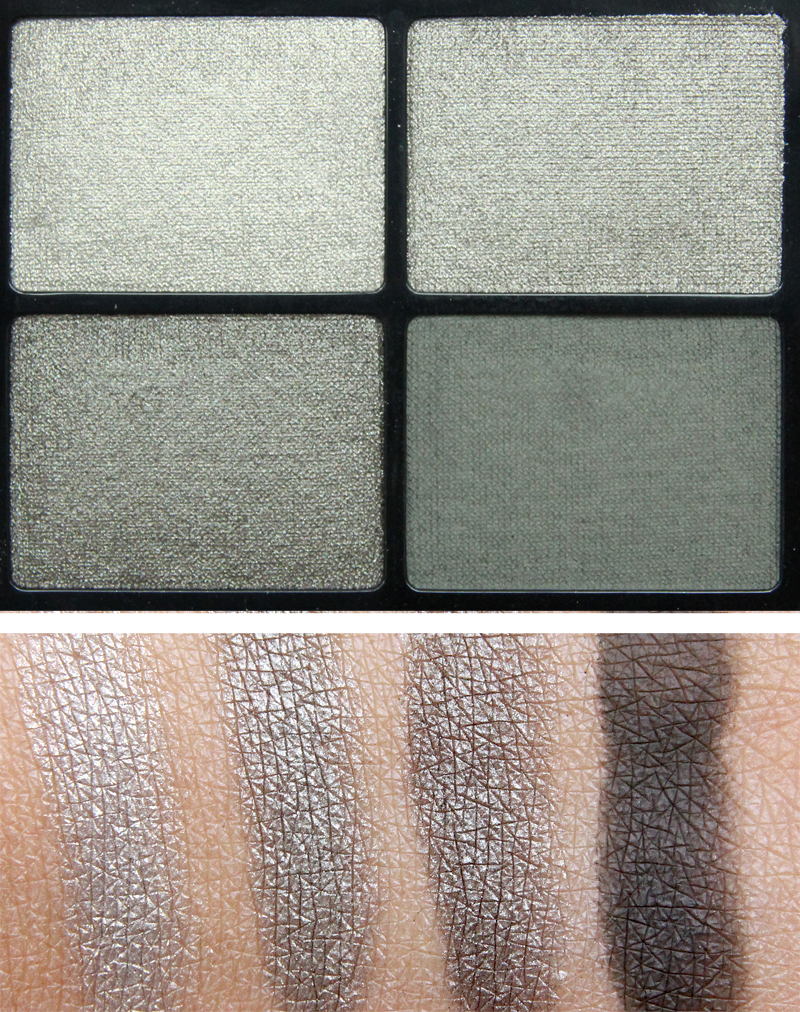 IsaDora Rock & Romance eye shadow quartet urban green