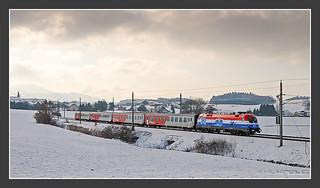 """EM-Lok """"Kroatien"""", Weng/AT, 15.12.2007"""