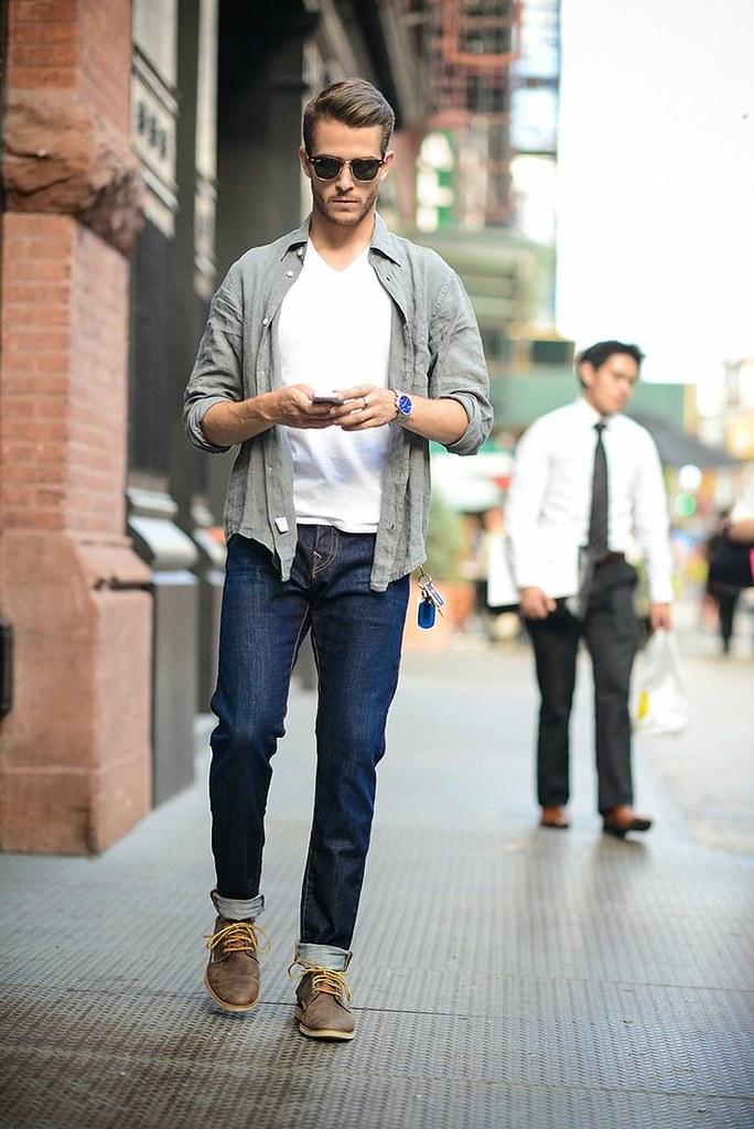 5 phong cách thường nhật của nam giới