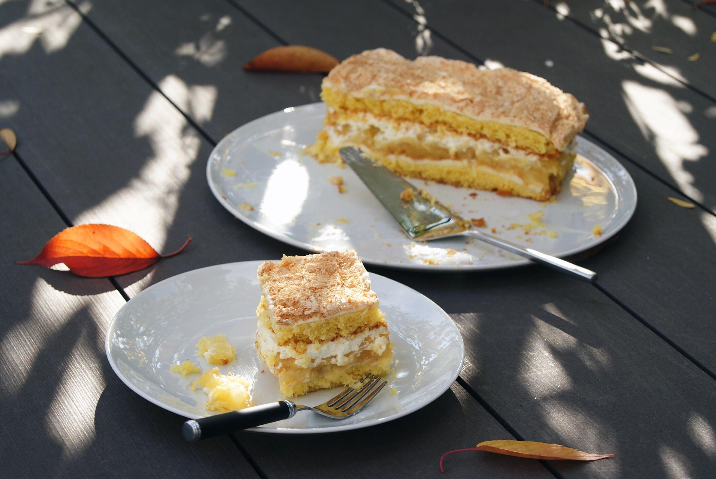 Ananas Baiser Schnitten 03