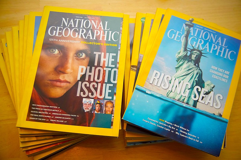252/365. the end of a very long love of national geographic.
