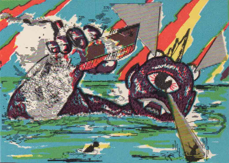 Monster Magic Action Trading Cards (1963) 11