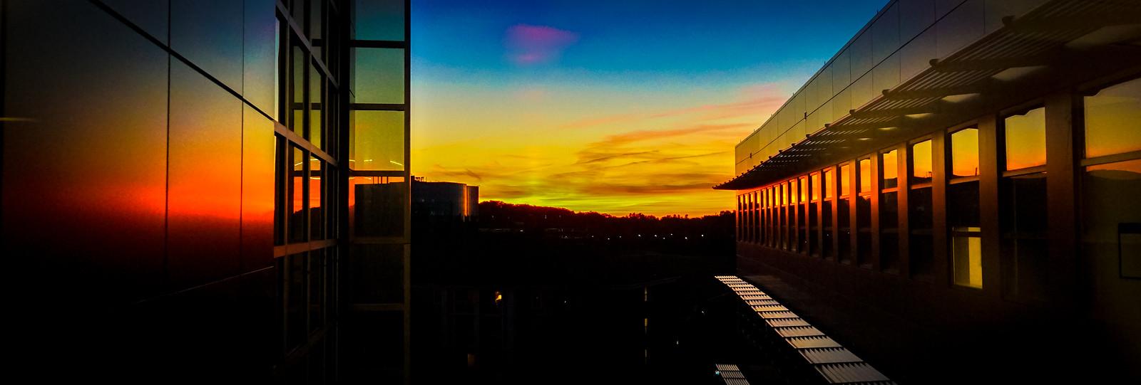 Photo Friday: Sunset at The Universities at Shady Grove, Maryland, USA