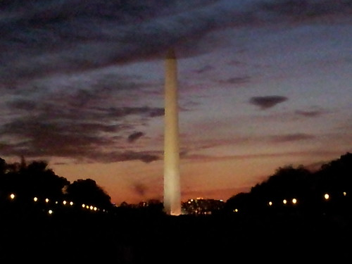 Washington Monument at Dusk