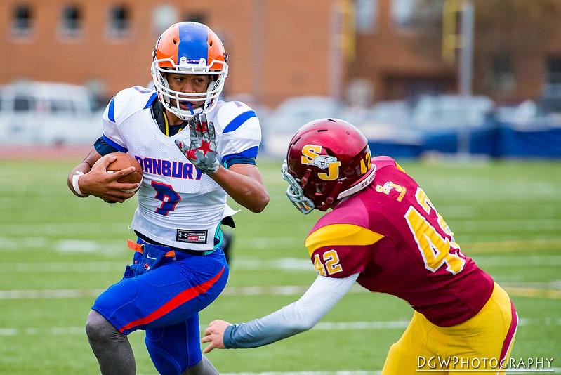 St. Joseph vs. Danbury High - High School Football