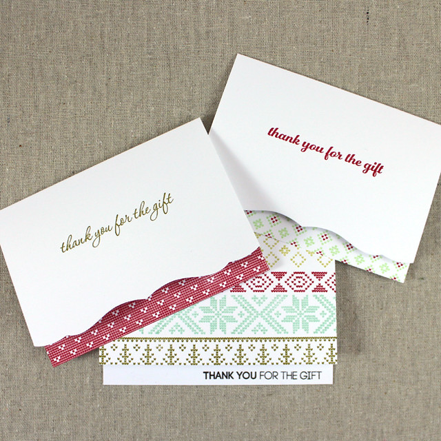 Christmas Thank You Notes 2