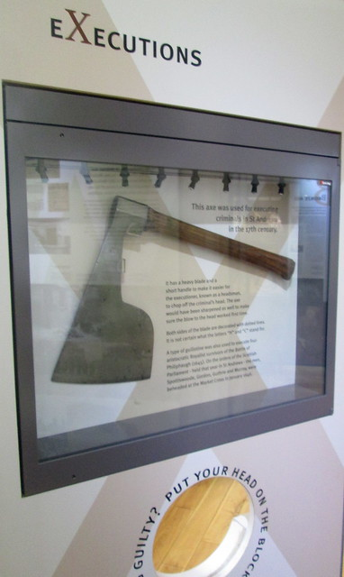 Executioner's Axe, St Andrews Museum