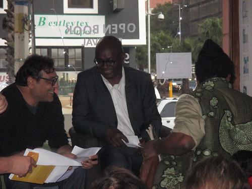 Ashraf Jamal and Achille Mbembe