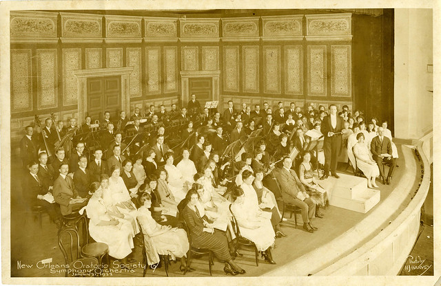 "Panoramic Photograph – ""New Orleans Oratorio Society & Symphony Orchestra,"" January 21, 1922"