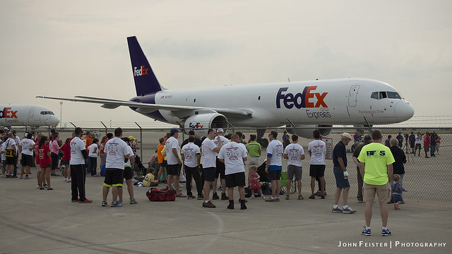 Special Olympics of Indiana FedEx Plane Pull