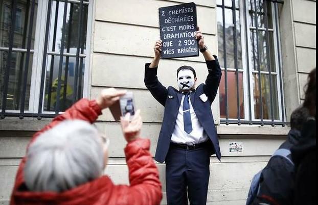 Confirma Air France recorte de mil empleados para 2016