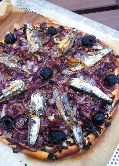 Pissaladière / Onion and Anchovy Pizza
