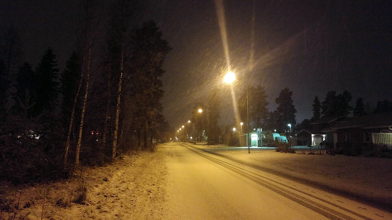 First snow 2015