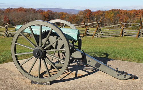 Gettysburg NMP ~ cannon near the Eternal Light