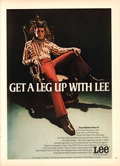 1970 Lee Slacks Advertisement Playboy May 1970