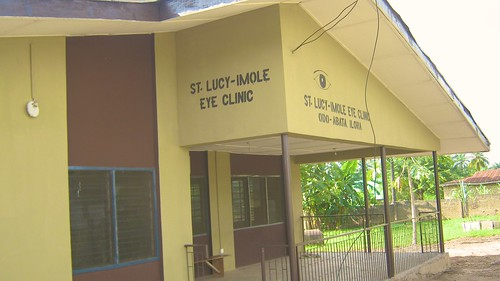The St Lucy-Imole Catholic Eye Clinic, Ilora, near Oyo