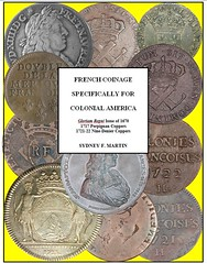 NEW BOOK: FRENCH COINAGE SPECIFICALLY FOR COLONIAL AMERICA